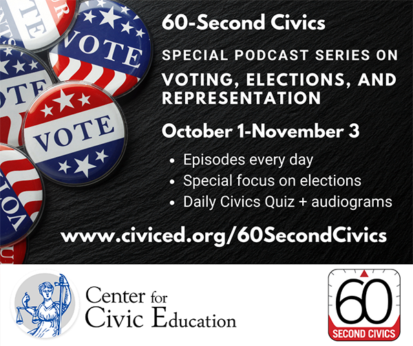 60-Second Civics Voting Series