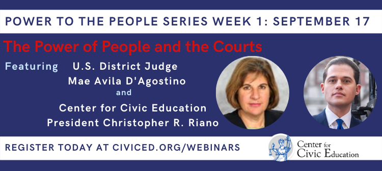 People and the Courts Webinar