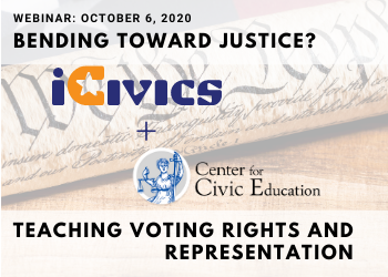 Webinar - iCivics and the Center for Civic Education