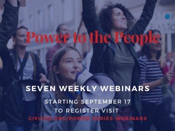 Power to the People webinar series