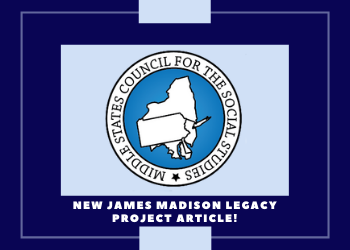 """Mario Gallo and Dr. Diana Owen's article, """"Closing the Civic Empowerment Gap: Professional Development for Teachers of High-Need Students,"""" was recently published in the journal of the Middle States Council for the Social Studies."""