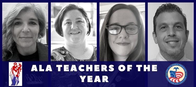 ALA Teachers of the year