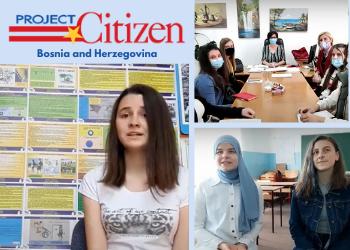 Project Citizen Showcase in Bosnia