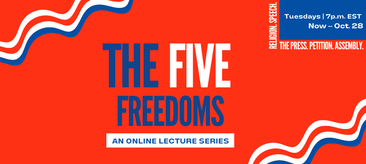 Five Freedoms Online Lecture Series