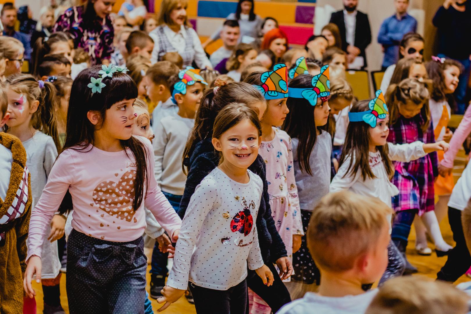 The Kindergarten Democracy Program is implemented in 62 preschool institutions throughout Bosnia and Herzegovina.